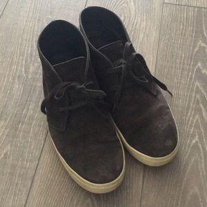 Men's Vince Suede High-Top Sneakers / Shoes 10.5